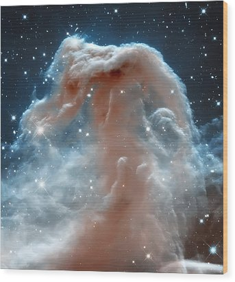 Horse Head Nebula Wood Print