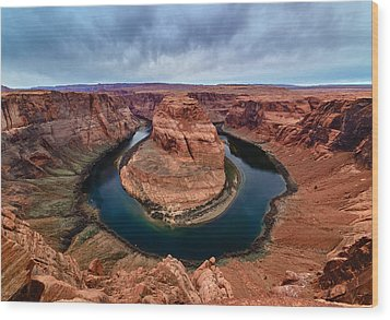 Horseshoe Bend Wood Print