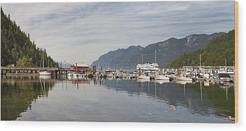Wood Print featuring the photograph Horseshoe Bay Vancouver Bc Canada by JPLDesigns