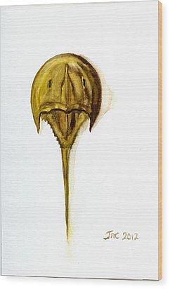 Horseshoe Crab 1 Wood Print
