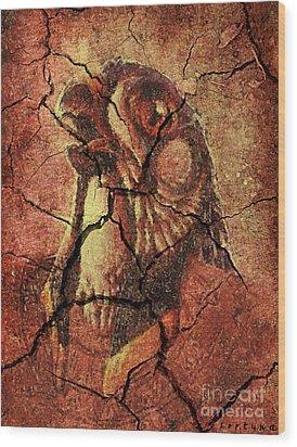 Horus - Wall Art Wood Print by Dragica  Micki Fortuna