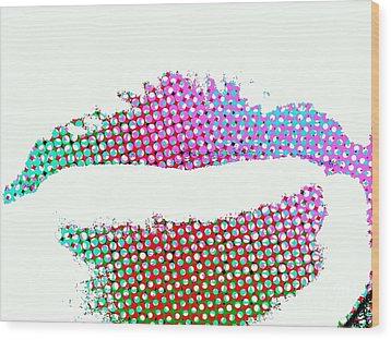 Hot Lips Bb Wood Print by James Eye