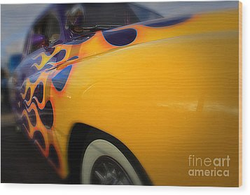 Hot Ride Wood Print by Paul Cammarata