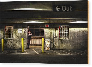Hot Summer Night Out Wood Print by Bob Orsillo