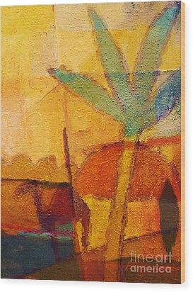 Hot Sun Wood Print by Lutz Baar