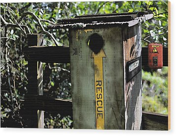 Hotbox Wood Print