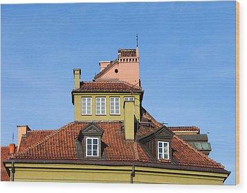 House Attic Wood Print by Artur Bogacki
