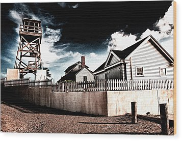 House Of Refuge Wood Print