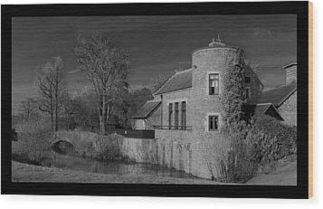 House On The River Wood Print by Maj Seda