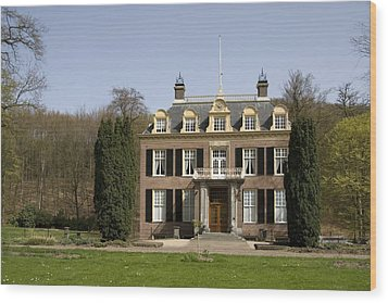 House Zypendaal In Arnhem Netherlands Wood Print by Ronald Jansen