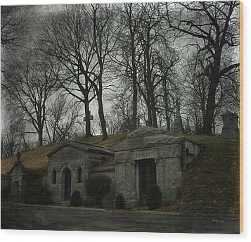 Houses Of The Holy Wood Print