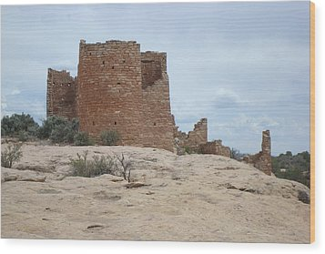 Hovenweap Castle Ruins Wood Print