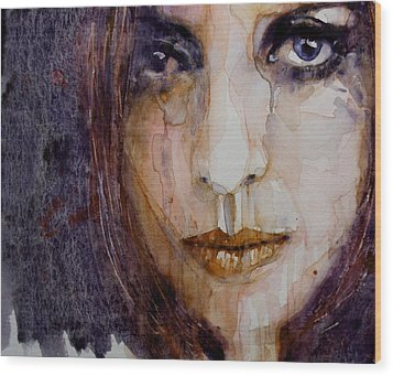 How Can You Mend A Broken Heart Wood Print by Paul Lovering