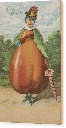 How Do I A Pear Wood Print by Aged Pixel