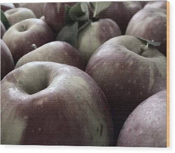 Wood Print featuring the photograph How Do You Like Them Apples by Photographic Arts And Design Studio