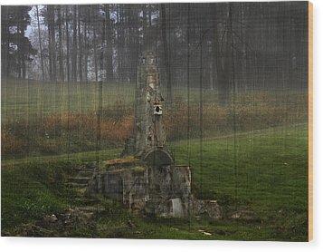 Howard Chandler Christy Ruins Wood Print