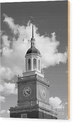 Howard University Founders Library Wood Print by University Icons