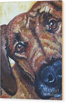 Howler Two Wood Print