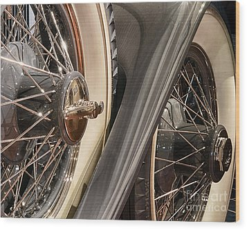Hudson Spare Tire Wood Print by JRP Photography