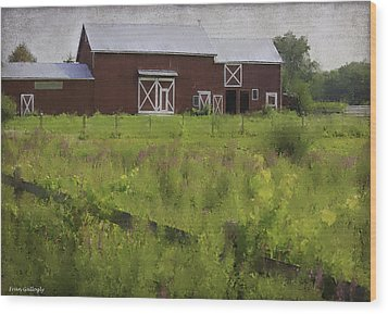 Hudson Valley Barn Wood Print