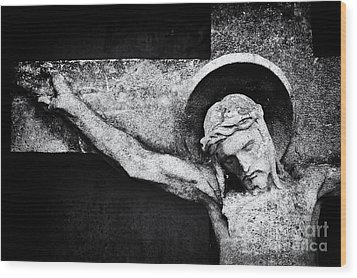 Humility Wood Print by Tim Gainey