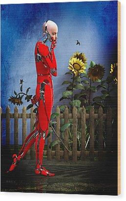 Hummingbirds Wood Print by Bob Orsillo