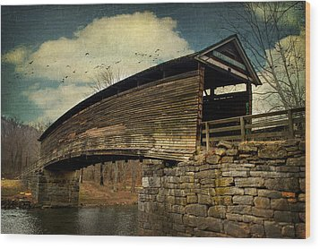 Humpback Bridge IIi Wood Print by Kathy Jennings