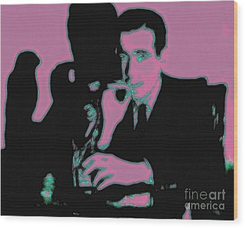 Humphrey Bogart And The Maltese Falcon 20130323m138 Wood Print by Wingsdomain Art and Photography