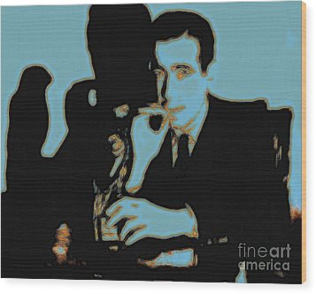 Humphrey Bogart And The Maltese Falcon 20130323p88 Wood Print by Wingsdomain Art and Photography