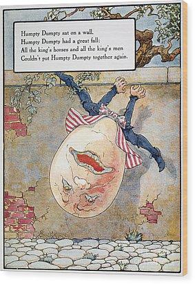 Humpty Dumpty, 1915 Wood Print by Granger