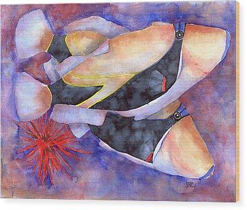 Humuhumunukunukuapuaa Wood Print by Pauline Jacobson
