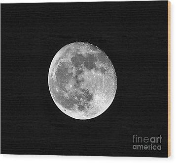 Hunters Moon Wood Print by Al Powell Photography USA