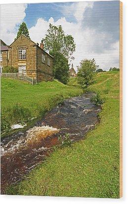 Hutton Beck 2 Wood Print