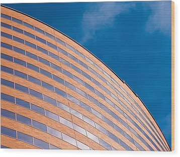 Hyatt Regency Arc Wood Print by Rob Amend
