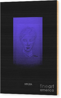 Wood Print featuring the photograph Hygeia by Linda Prewer