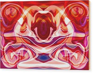 Hypnotoad Wood Print by Omaste Witkowski