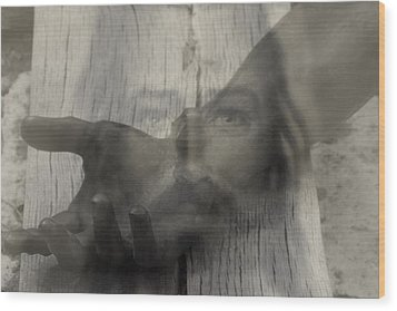 I Am Risen.. Wood Print