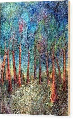 I Arose Morning  Wood Print by Wojtek Kowalski