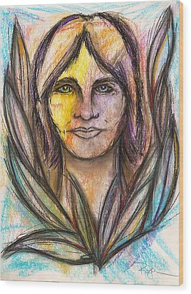 I Met My Spirit Today - Elyon Wood Print