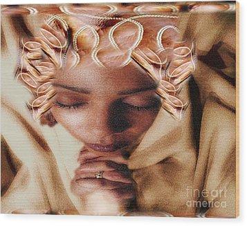 I Pray To Lord My Daily Prayer Wood Print by Belinda Threeths