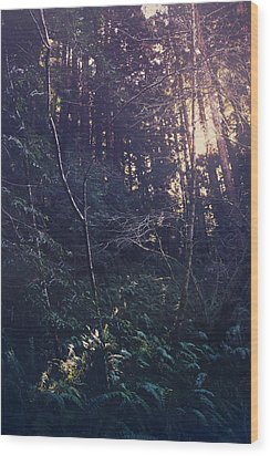I Realize Wood Print by Laurie Search