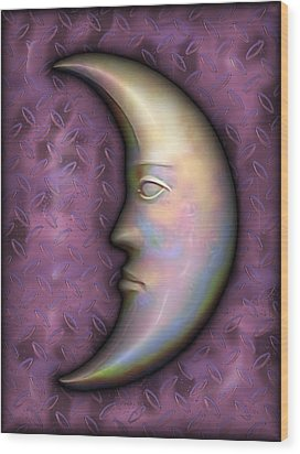 I See The Moon 2 Wood Print by Wendy J St Christopher