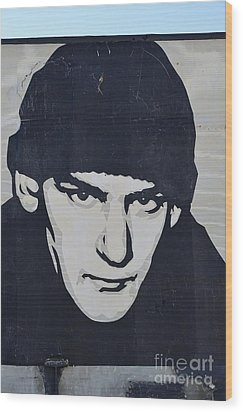 Ian Mackaye Wood Print by Allen Beatty