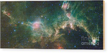 Ic 2177-seagull Nebula Wood Print by Science Source