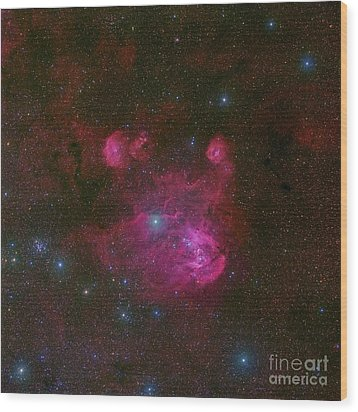 Ic 2944, A Large H II Region Wood Print by Robert Gendler