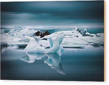 Ice Age Wood Print