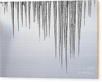 Ice Cycles Wood Print by Paul W Faust -  Impressions of Light