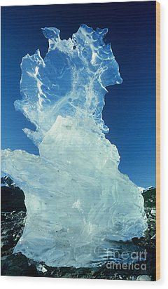 Ice Formation Wood Print by Art Wolfe