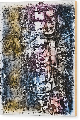 Ice Number Five Wood Print by Bob Orsillo