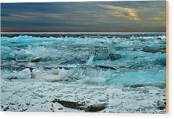 Ice Storm # 3 - Battery Bay - Kingston - Canada Wood Print